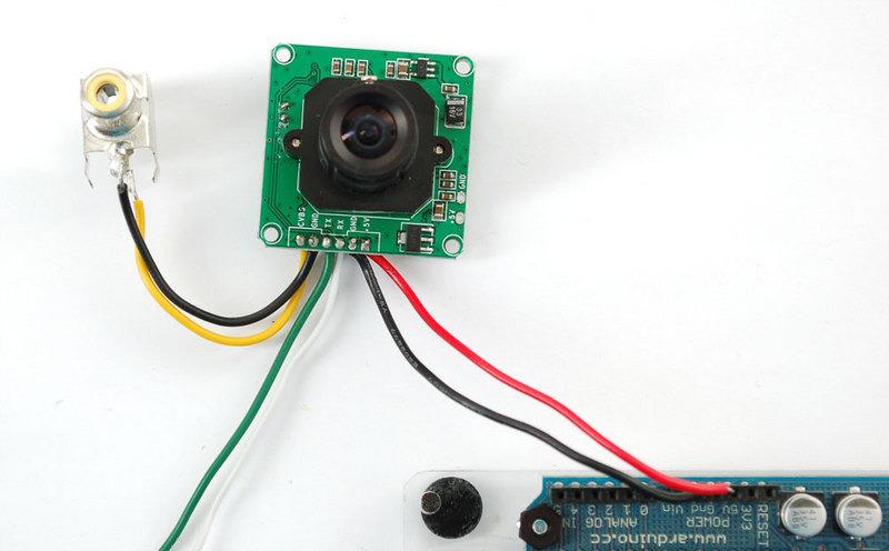 testing the camera