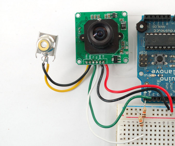 Infrared JPEG Color Camera Camera Modules For Arduino