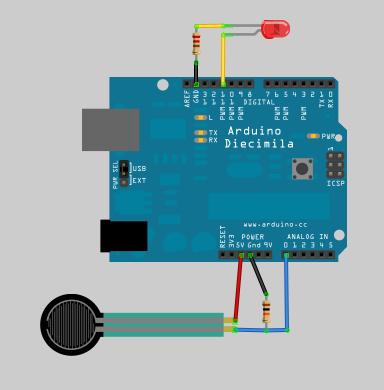 using an fsr force sensitive resistor (fsr) adafruit Static Eliminator Wiring Diagram