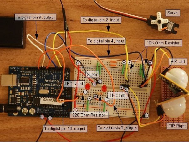 Example Projects Pir Motion Sensor Adafruit Learning