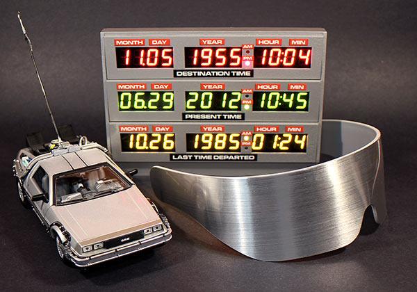 Adafruit BTTF Time Circuit Case