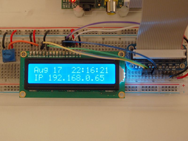 Need help wiring this LCD screen to Raspberry - Raspberry Pi Forums