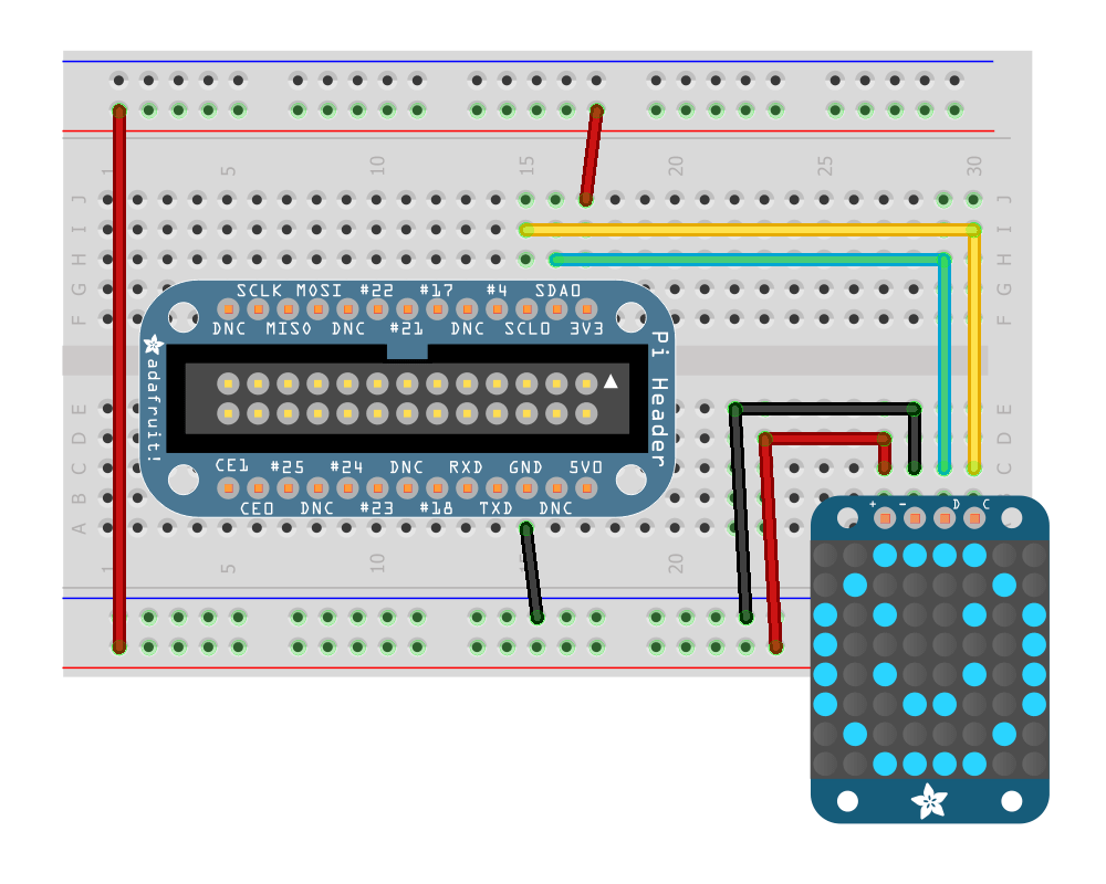 Wiring Io Pi With A Standard I2c Device Raspberry Here Is The Schema Without