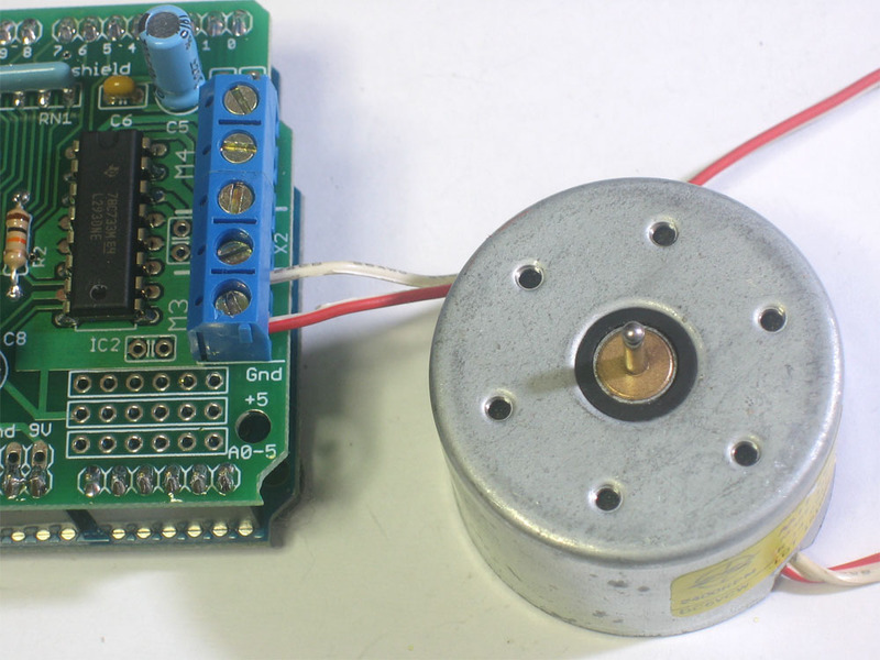 Using Dc Motors Adafruit Motor Shield Adafruit