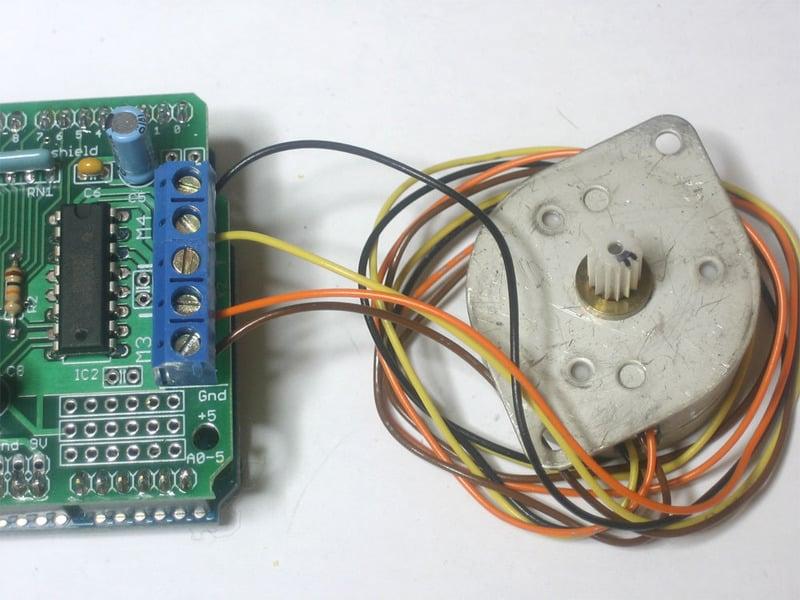 Using Stepper Motors Adafruit Motor Shield Adafruit