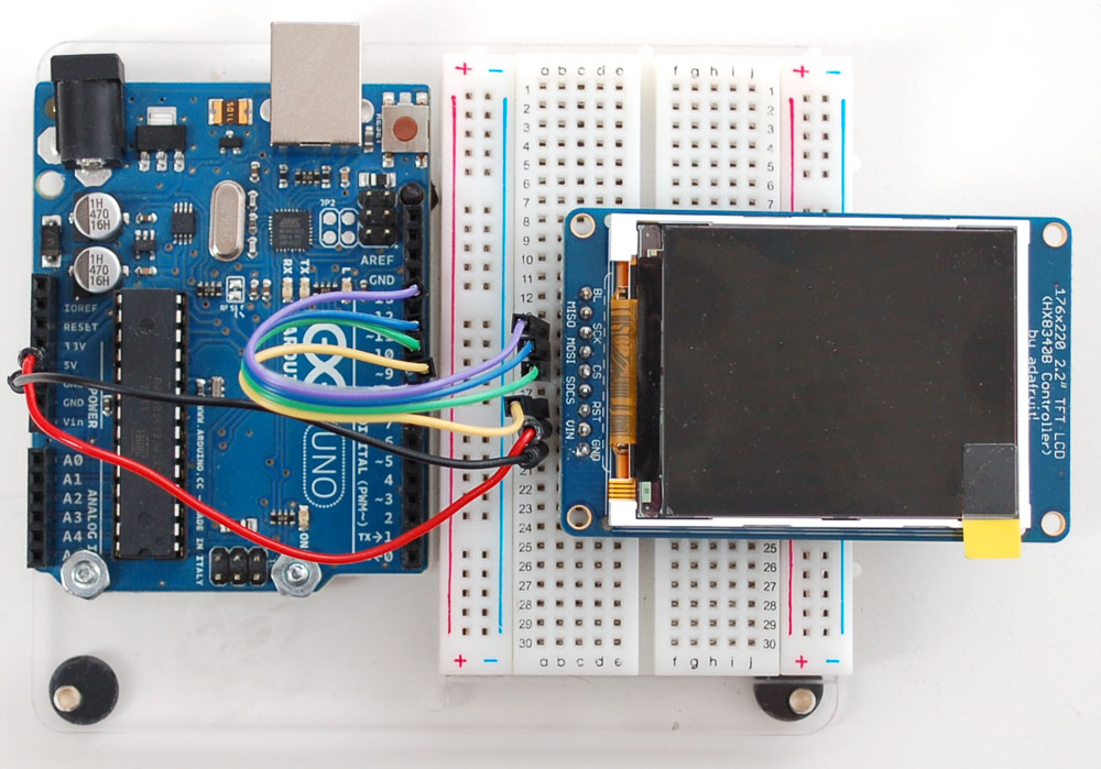 Interfacing the Arduino with an SSD1306 driven OLED