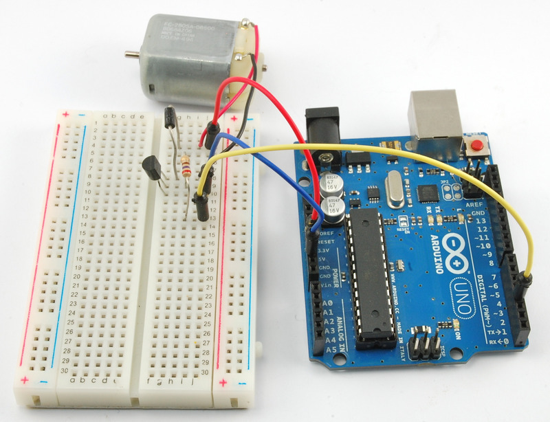 Overview arduino lesson dc motors adafruit