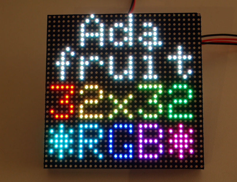 Overview | 32x16 and 32x32 RGB LED Matrix | Adafruit Learning System