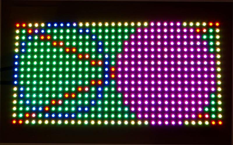 Adafruit 16x32 Rgb Led Matrix