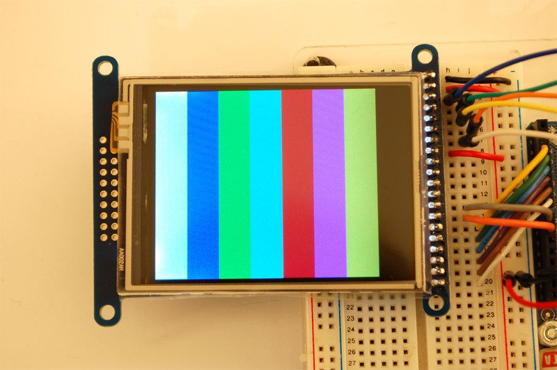 LCD Test | 2 8