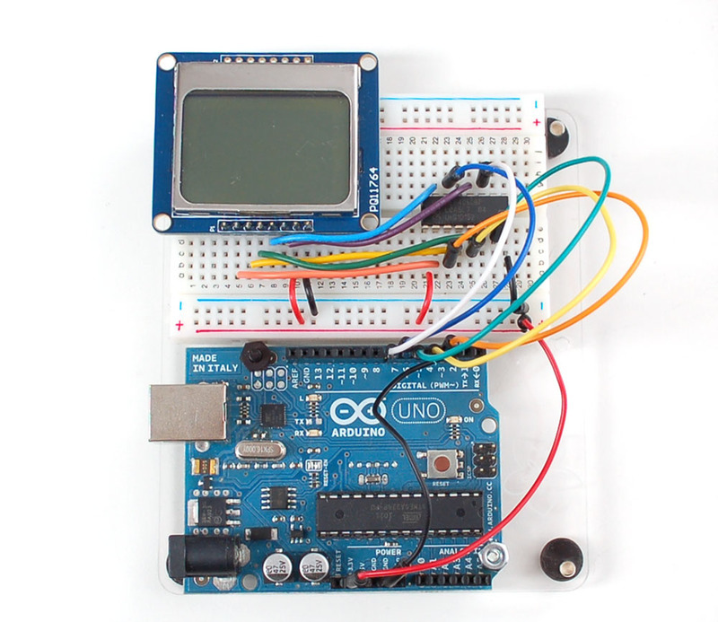 Arduino Tutorial - connecting a parallel LCD - ladyada.net