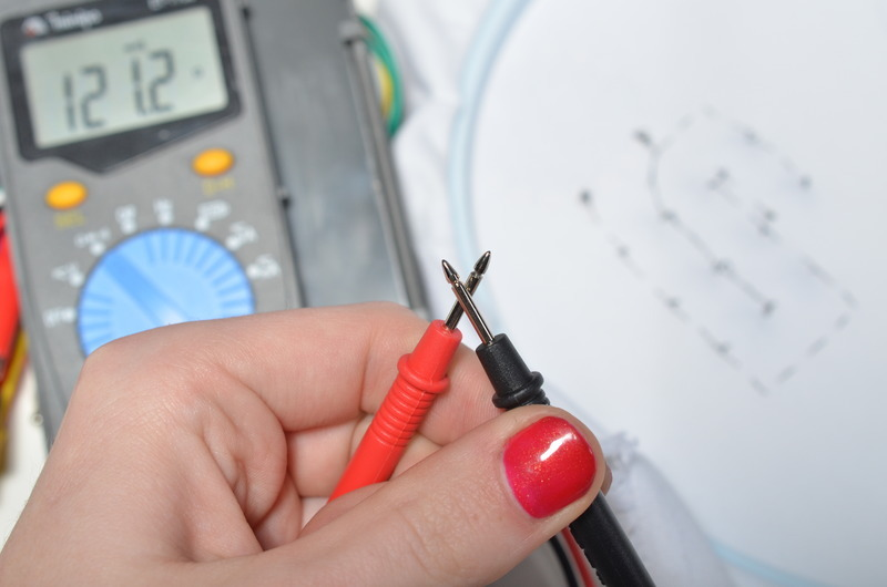 how to use multimeter to check for short