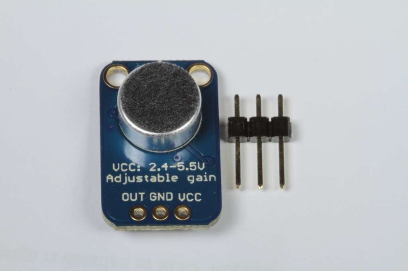Microphone with MAX9812L Amplifier Breakout Amplificador Microfono