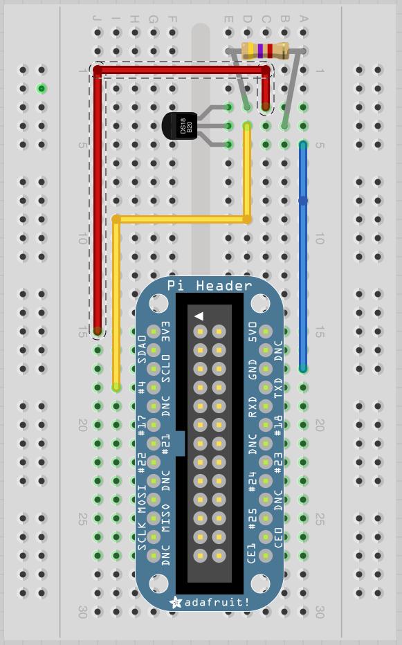 Hardware | Adafruit\'s Raspberry Pi Lesson 11. DS18B20 Temperature ...