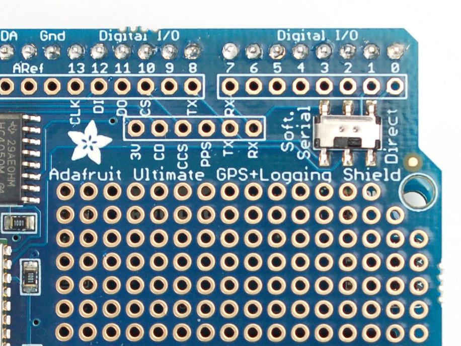 Adafruit Ultimate GPS Breakout - 66 channel w/10 Hz