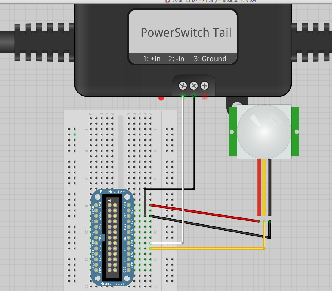 Powerswitch Tail to Breadboard