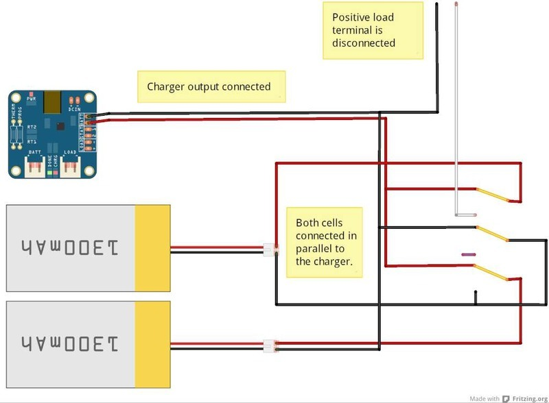 Simple Balance Charger on lipo battery charging circuit
