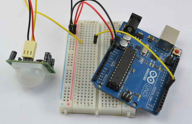 Overview arduino lesson email sending movement
