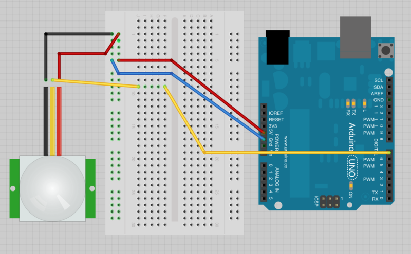 Overview | Arduino Lesson 17. Email Sending Movement Detector ...