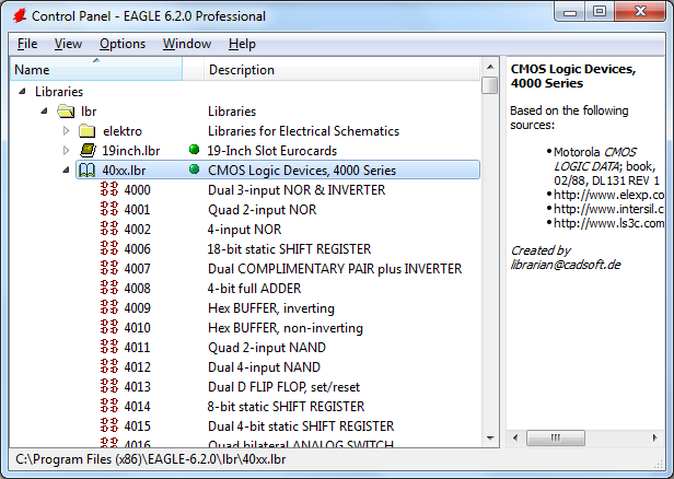 New Library | Eagle Tutorial - How to add a new package to a ...