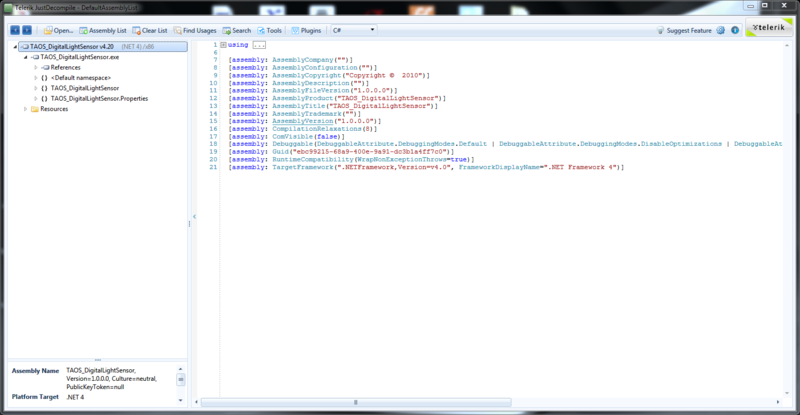 Decompiling  Net Binaries | Decompiling  NET Apps | Adafruit