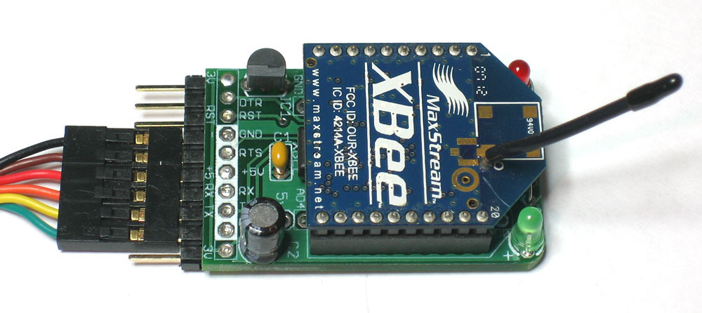 An XBee wireless modem adapter that doesnt suck
