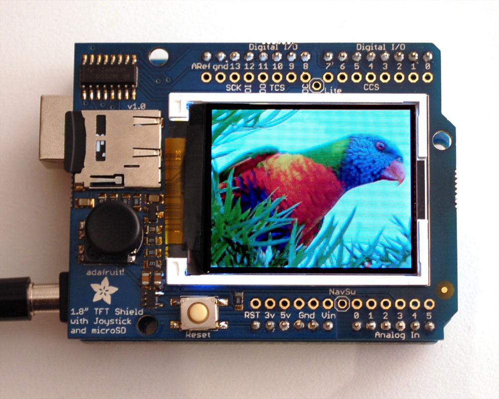 Interface 32 TFT LCD module to Arduino Mega2560/UNO