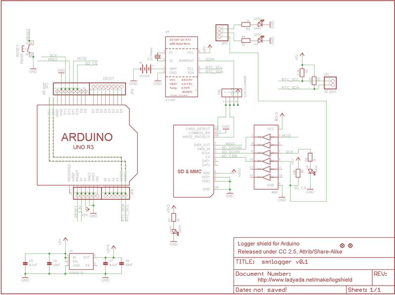 Overview Adafruit Data Logger Shield Learning Systemrhlearnadafruit: Multi Sd Motor Wiring Diagram At Gmaili.net