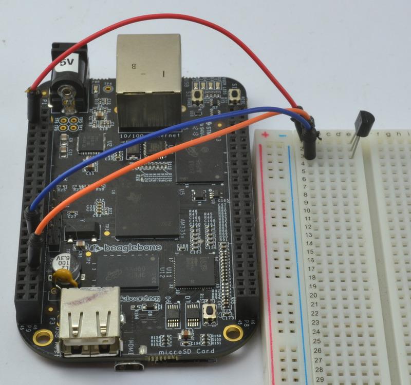 DS18Btemperature sensor on a Beaglebone Black running ubuntu