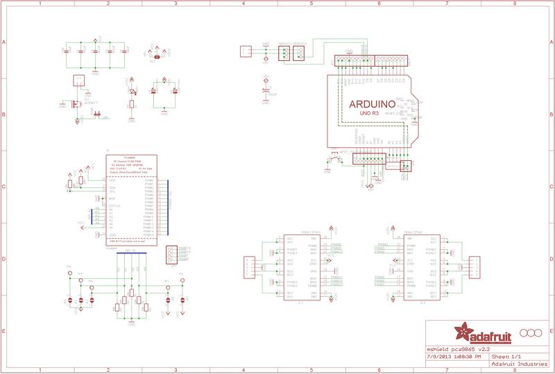 Resources Adafruit Motor Shield V2 For Arduino