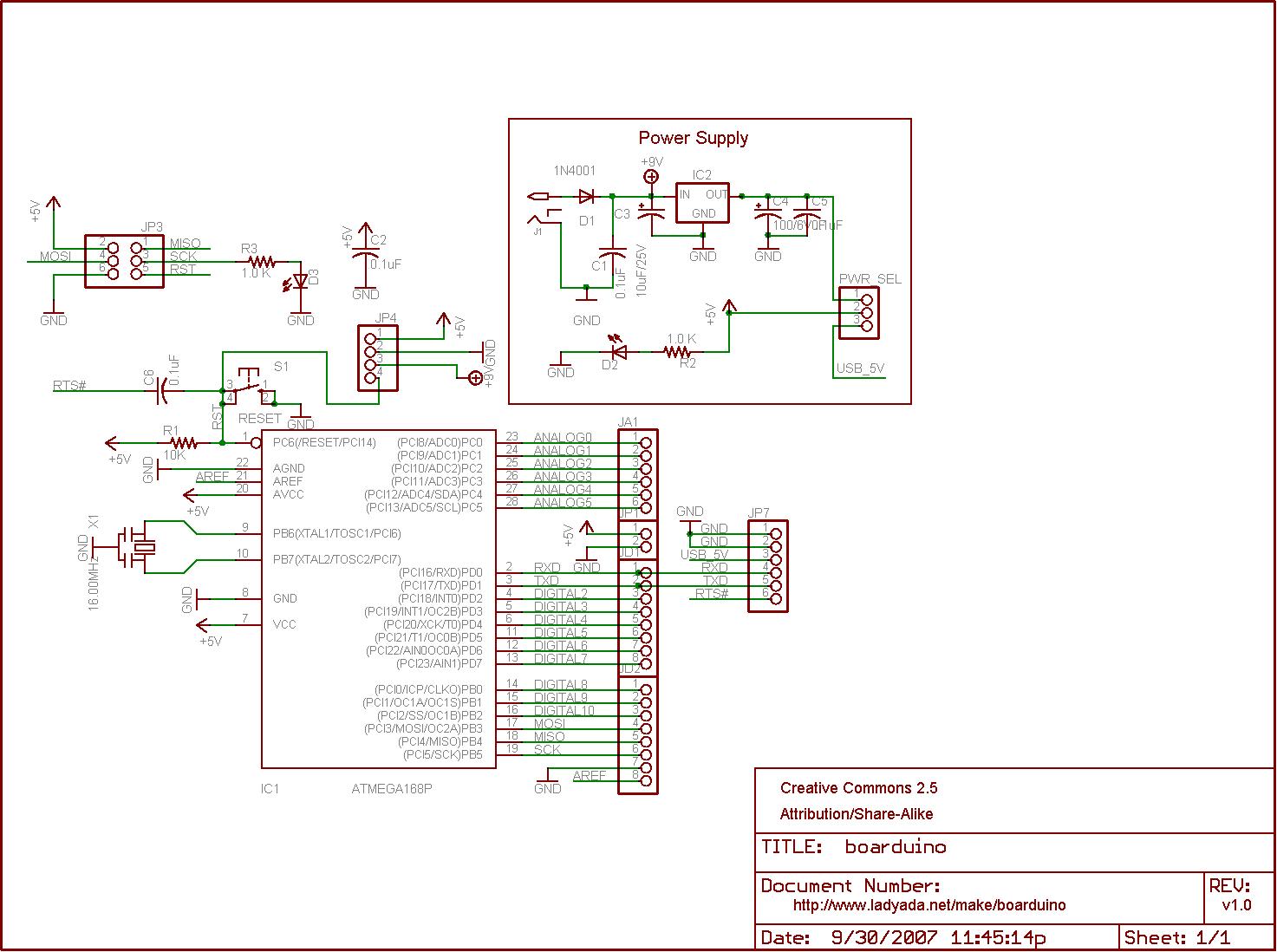 Barebones Arduino Schematic Engine Control Wiring Diagram Arduinocircuitsimulator Arduinosimulator Downloads Dc Usb Boarduino Kits Adafruit Learning System Rh Learn Com Diy Uno