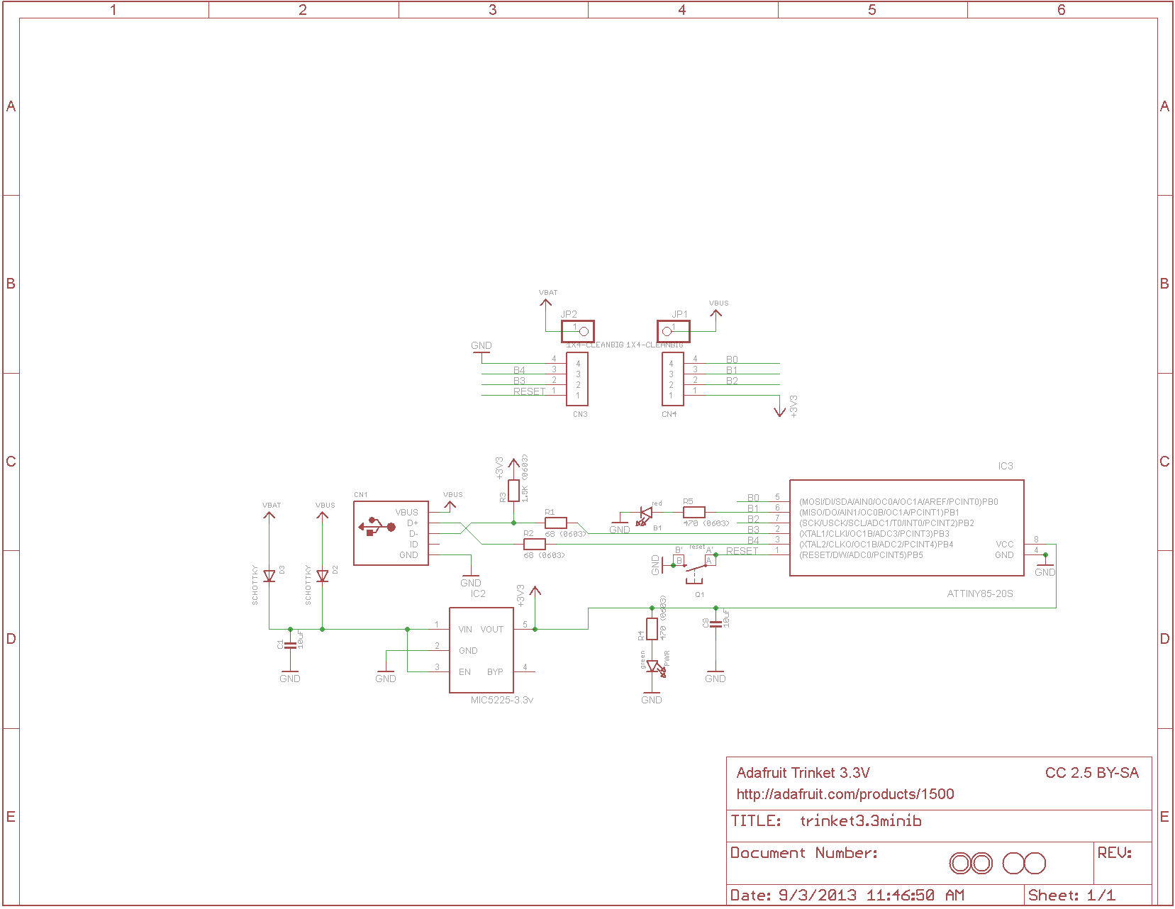 Hackadays Soup Ceiling Fans Wiring Diagram Besides Arduino Rotary Encoder He Made This Change Based On His Experience With V Usb And The Attiny85 Has A Lot More Information Build Forum