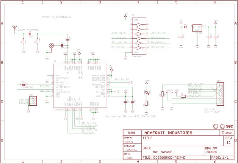 Downloads Adafruit Cc3000 Wifi Adafruit Learning System