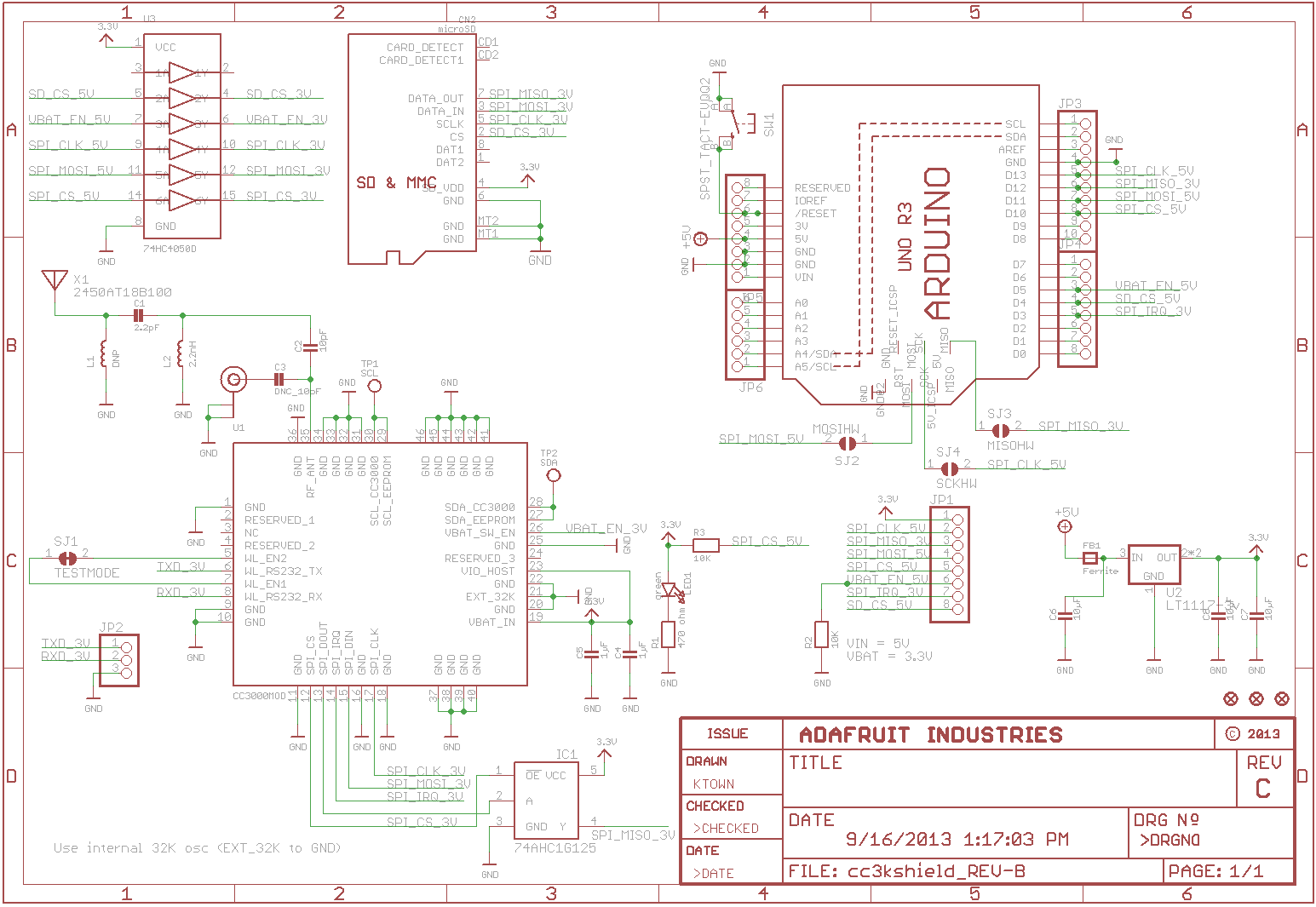 Creating A Schematic For A Rfm69 Breakout Board Bitknitting