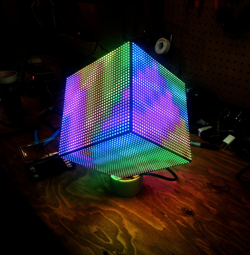 Overview diy led video cube adafruit learning system