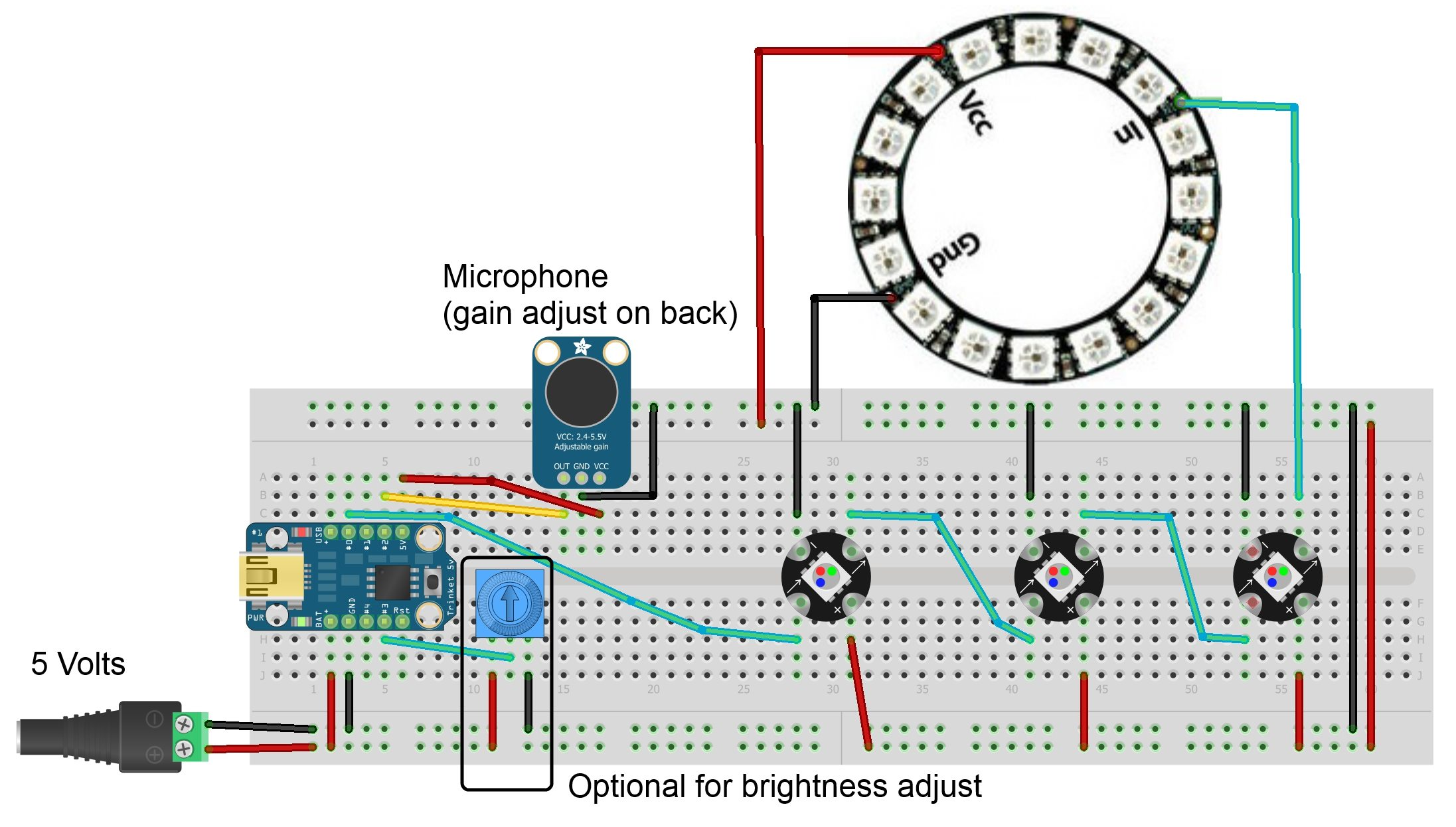 Breadboard and LEDs lesson 3 -Use Arduino for Projects