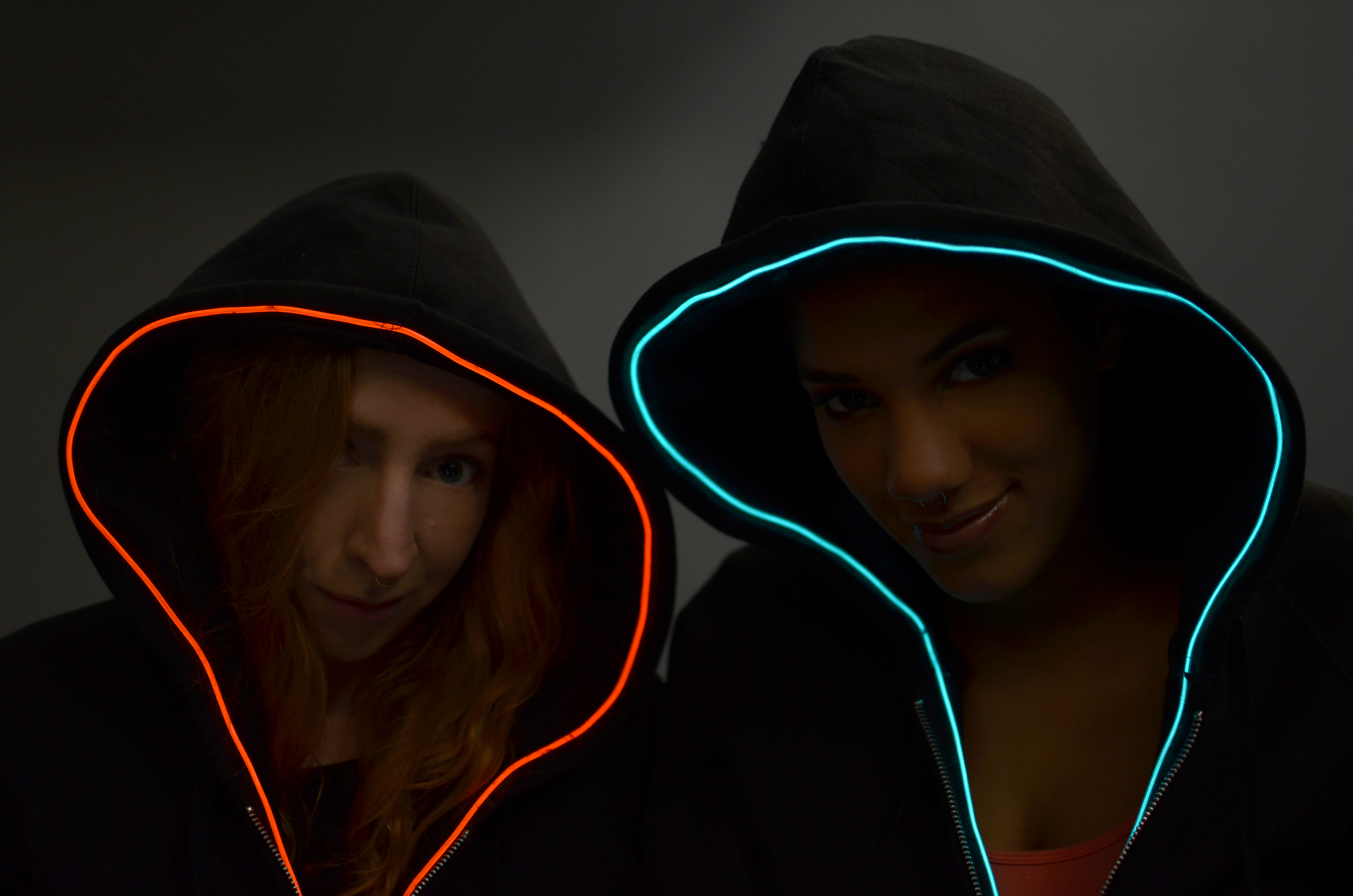 Wear it! | TRON Hoodie | Adafruit Learning System