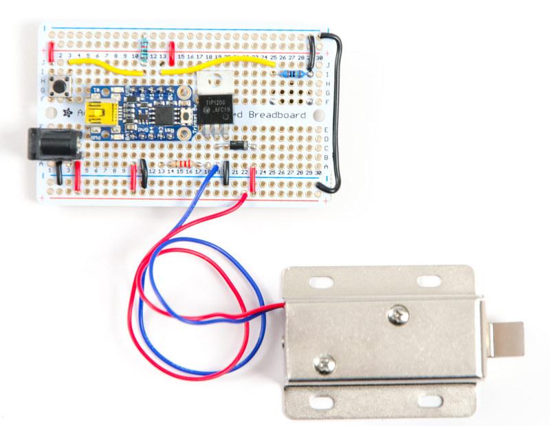 Trinket Secret Knock Permaproto on Knock Sensor Wiring Circuit Diagrams