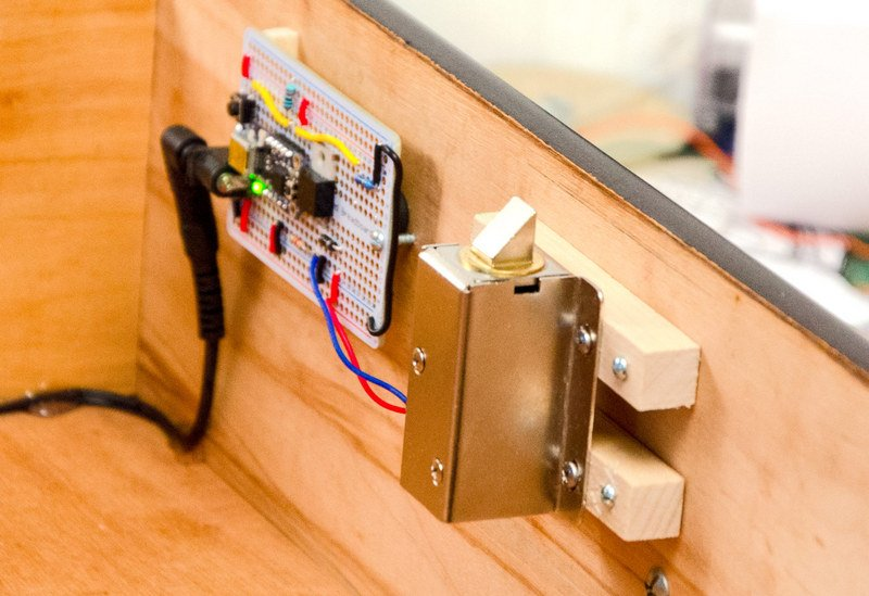 Overview Secret Knock Activated Drawer Lock Adafruit Learning System