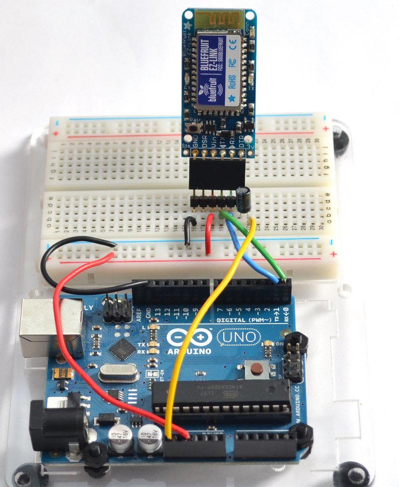 Arduino programming introducing bluefruit ez link