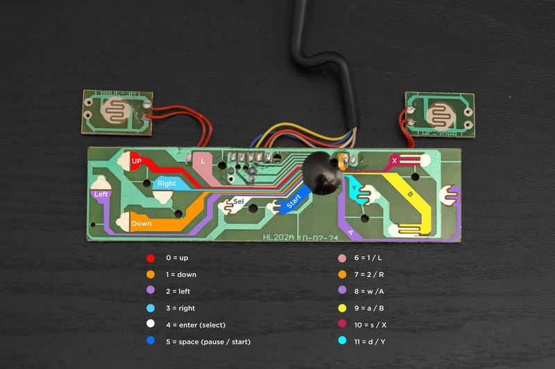 gaming_snes diagram?1384639330 circuit build snes ez key bluefruit game pad adafruit learning super nintendo controller wiring diagram at crackthecode.co