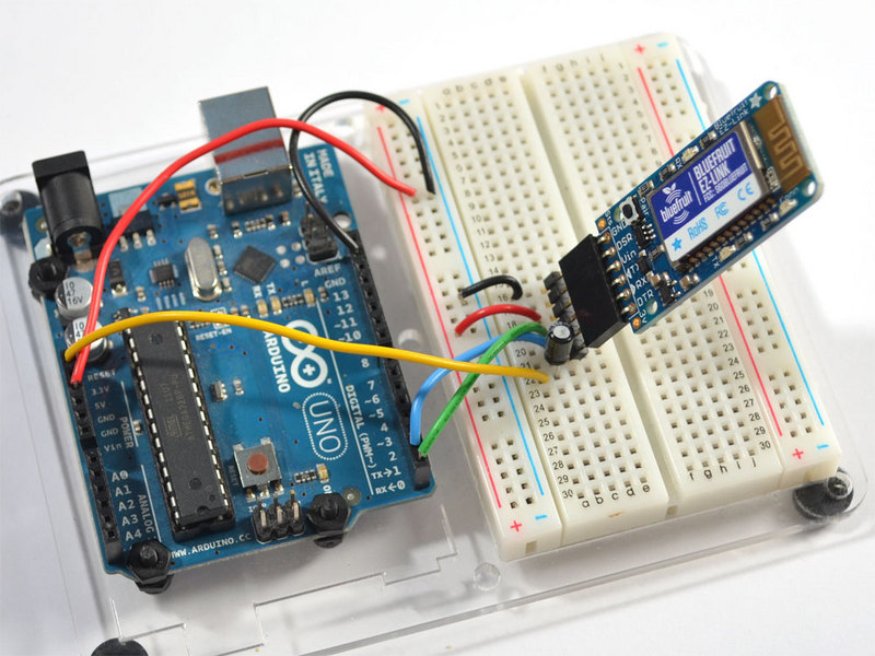 Arduino programming introducing bluefruit ez link