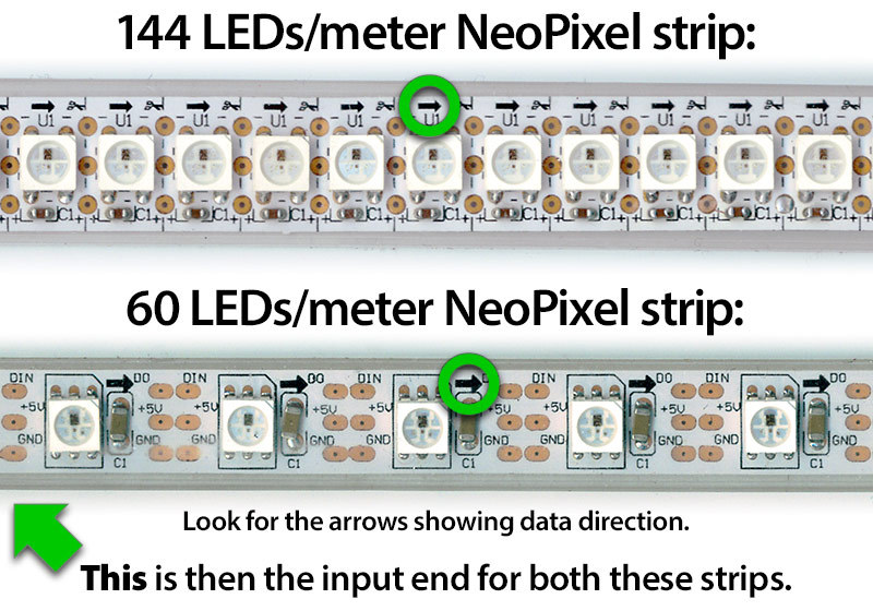 led_strips_strip direction?1385083971 test neopixel strip neopixel painter adafruit learning system RGB LED Cube 8X8x8 at gsmx.co