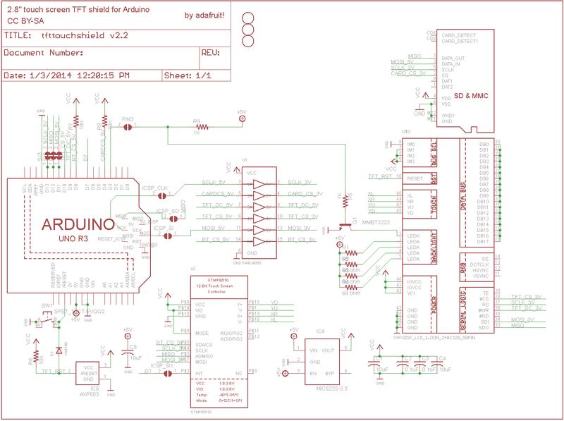 Adafruit arduino motor shield schematic free