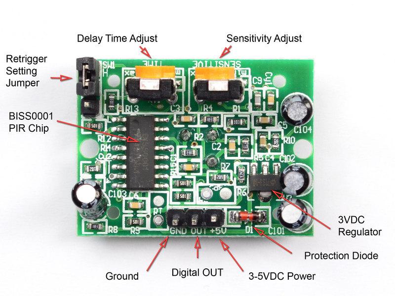 Sensor PIR dengan Arduino 1