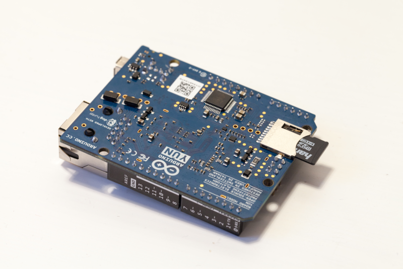 Connections wireless security camera with the arduino
