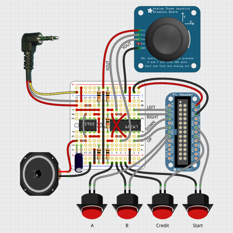 joystick control panel wiring diagram beta board part 3 | cupcade: the raspberry pi micro arcade ... #13