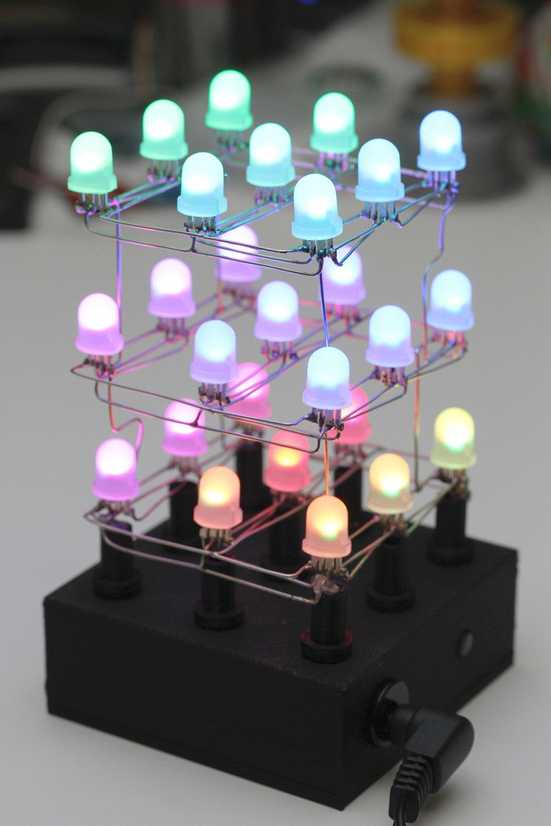 Light Em Up Free Wired 3x3x3 Neopixel Cube Adafruit