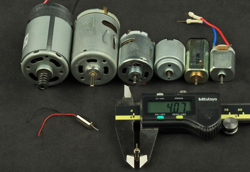 Types of motors adafruit motor selection guide for Types of dc motor