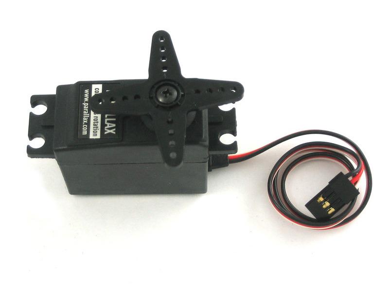 Continuous Rotation Servos Adafruit Motor Selection